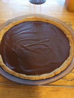 Chocolate Pie, Keto Style!