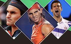 Análise de Federer, Nadal e Djokovic
