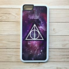 """Handmade """"Harry Potter"""" Inspired """"Deathly Hallows"""" Galaxy Case"""