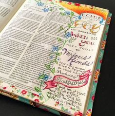 Illustrated faith, documented faith, Illuminated journaling by zennyart on Instagram.