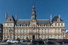 City Hall, Rheims, Marne, Grand Est, France