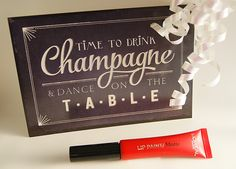 Have a glamouros New Year! [L'Oreal Paris Infaillible Lip Paint] - Happiness Is The Only Rule