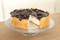 bosbes-limoen cheesecake (met kokosroom én noten, rauw)