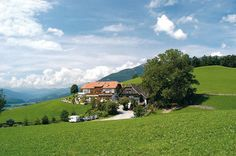 Wohnmobilstellplatz, Berggasthof Amaten, Amaten 3, Bruneck, Pustertal, Südtirol, Italien