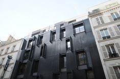 10 logements sociaux à Paris 17 par Avenier Cornejo Architectes