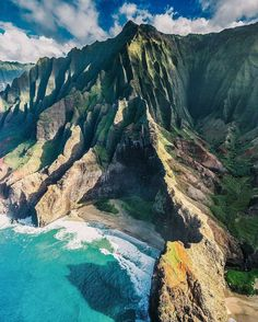 Napali Coast State Wilderness Park.