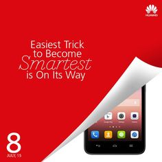 Easiest Trick to Become Smartest is On Its Way. #huaweiIndia #Smartphones