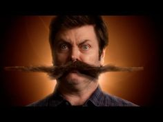 6816d64fc What A Feelin Nick Offerman, Gif Of The Day, Movember, Parks And Recreation