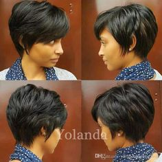 African lace Short pixie human hair wigs for black women Short Human Hair Wigs Lace Front Hair Wigs Perruque Cheveux Human 2018 from corahair, $38.2 | DHgate Mobile