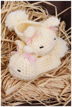 No Ordinary booties - Crochet baby shoes - For Babies - Infants