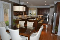 Charlotte Kitchen Redo, We recently remodeled our kitchen and would love your opinion.  The last update will be new bar stools finished in c...
