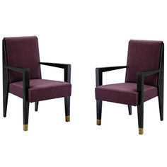 1stdibs.com | Armchairs by Maurice Jallot