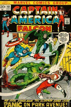 Captain America (1968 Marvel 1st Series) National Diamond 151NDS