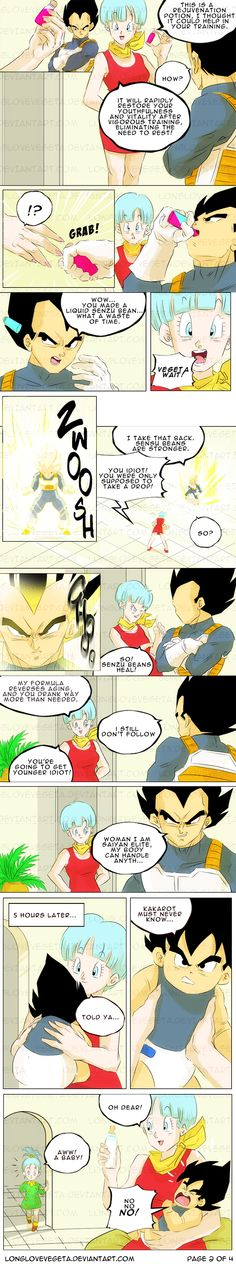 COMMISSION: Untitled Vegeta and Bulma: Page 2 of 4 by longlovevegeta