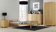 Das Bett EHB 07 ist ein starkes Holzbett mit hochwertigen Lattenrost. Das Bett steht Ihnen im Farbton Kiefer (Natur) zur Auswahl. Das Bett ist sicher das dominanteste Möbelstück im Schlafzimmer. Die minimalistische Form passt besonders gut zu klassisch oder auch zu modern dekorierten Räumen. Das Bett verbindet Komfort und Gemütlichkeit. #Kieferbett #Jugendbett #BettmitLattenrost #Ehebett #Holzbett Decor, Bench, Entryway Bench, Furniture, Home Decor, Entryway