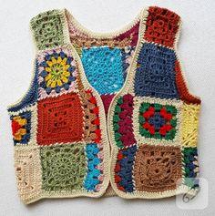 Likes, 101 Comments - Hi Crochet Yoke, Crochet Art, Crochet Woman, Love Crochet, Crochet Waistcoat, Crochet Jacket, Crochet Clothes For Women, Crochet Designs, Crochet Patterns