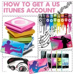 """How to get a US itunes account"" by ronniebabyr5 ❤ liked on Polyvore"