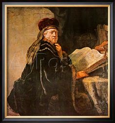 Rabbi Posters by Rembrandt van Rijn at AllPosters.com