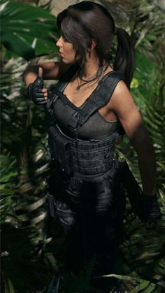Tomb Raider Cosplay, Tomb Raider Lara Croft, Lara Croft Outfit, Resident Evil Girl, Combat Gear, Russian Beauty, Jessica Nigri, Princess Mononoke, Gurren Lagann