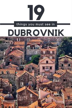 Dubrovnik is located in southern Croatia on the Adriatic Sea and possesses a long history. Dubrovnik has been exquisitely preserved to maintain its medieval charm., and here are all of the must see sights and things to do in Dubrovnik.