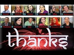 Thanks to viewers and listeners of my TV Radio Show -Asmaa Chaudhry