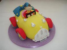 Noddy car cake - so cute!