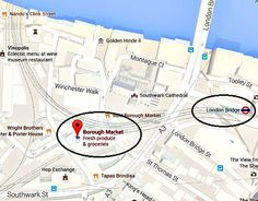 How to get to Borough Market London