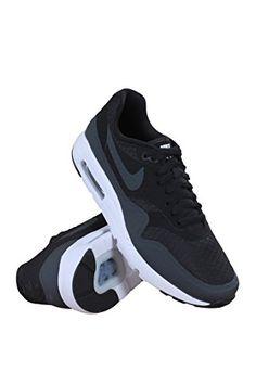 4864e2d9e6c1 Nike Mens Air Max 1 Ultra Essential BlackAnthraciteWhite Running Shoe 75  Men US