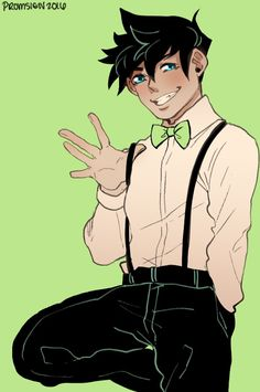 from Tony danny phantom in gay henatai
