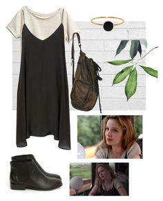 """before sunrise - Céline"" by papatuanuku ❤ liked on Polyvore featuring H&M, Ginette NY, Totokaelo, céline, before sunrise, celine and julie delpy"