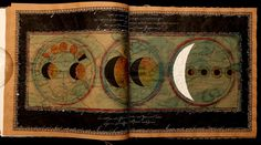 Book Art, Artist's Book, Planets And Moons, Book Of Hours, Altered Books, Amazing Art, Paper Art, Art Journals, Fabric