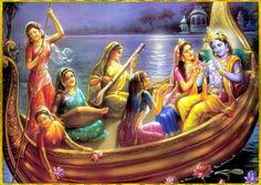 Krishna Radha and Gopis Señor Krishna, Krishna Lila, Baby Krishna, Cute Krishna, Radha Krishna Pictures, Lord Krishna Images, Radha Krishna Photo, Lord Krishna Wallpapers, Krishna Painting