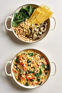 These Magical One-Pot Pasta Recipes Only Need 5 Ingredients .- One-Pot Pasta Recipes – Easy Pot Pasta Meal Ideas Healthy One Pot Meals, Easy One Pot Meals, Healthy Snacks, Healthy Recipes, Easy Pasta Recipes, Dinner Recipes, Cooking Recipes, Skillet Recipes, Cooking Gadgets