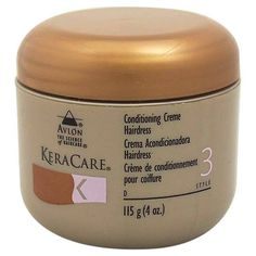 KeraCare Conditioning Creme Hairdress 4 Ounce