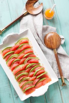 This refreshing Grapefruit Avocado Salad is drizzled with a sweet and savory Mustard and Honey Vinaigrette. Easy to throw together and it looks so pretty!