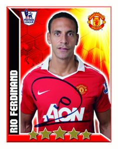 See how departing Manchester United defender Rio Ferdinand has changed during his 12 years at United here. Manchester United Images, Manchester United Football, Rio Ferdinand, Man United, Premier League, The Unit, Baseball Cards, Sports, Pictures