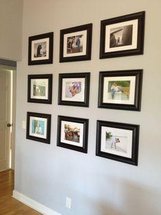 Photo wall, family memory wall