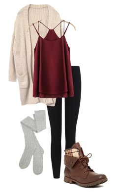 """Autumn"" by peanutbutter-n-nutella on Polyvore featuring James Perse and Rock & Candy"