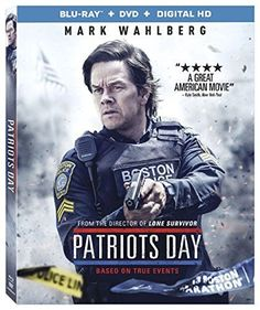 Patriots Day MARK WAHLBERG NEW SEALED SLEEVE BLU RAY DIGITAL HD DVD
