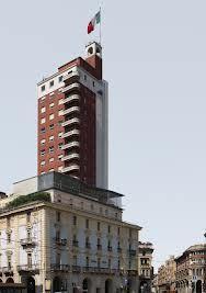 La Torre Littoria è il primo e più alto edificio residenziale della città di Torino ed uno dei più noti edifici razionalisti d'Italia. È situata nel centro della città, in via Giovanni Battista Viotti, a pochi passi da piazza Castello.