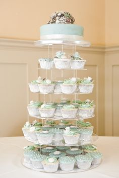 LOVE this... details on the cupcakes are perfect