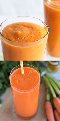 carrot, apple and turmeric smoothie recipe - Nutrition Fruit Smoothie Recipes, Apple Smoothies, Healthy Smoothies, Healthy Drinks, Healthy Recipes, Apple Carrot Smoothie, Sweet Potato Smoothie, Papaya Recipes, Dieting Foods