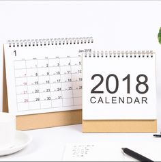 1pcs 2019 Year New Kawaii Lovely Cartoon Calendar Mini Table Calendars Desk Calendar Schedule Planner Notebook Multifunction Durable In Use Calendars, Planners & Cards Calendar