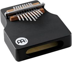 Meinl Percussion KA9WW-BK Wah Wah Effect Wood Kalimba, Black  Made of Chrome Plated Steel and Rubber Wood  Ergonomic Shape  Wah-Wah Effect  Wide Opening  Traditional Style