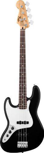 Fender Standard Jazz Bass®, Left Handed, Black, Rosewood Fretboard