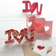 Show your loved ones how much you care with these adorable handmade Valentine's cards: http://www.bhg.com/holidays/valentines-day/cards/handmade-valentines-cards/?socsrc=bhgpin012014lovenotescards&page=1