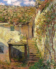 Claude Monet - L'Escalier