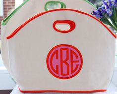 love this beach bag! monogramshopping.com