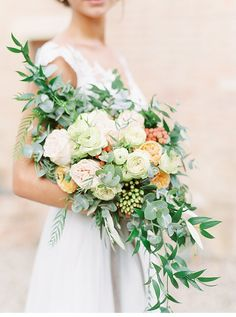 Tuscany Elopement in Olive Groves by Savan Photography and Weddings by Silke