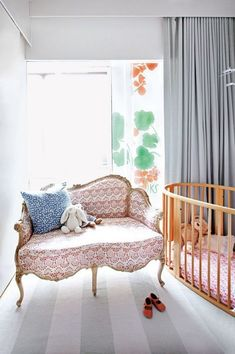 Kate Schelter's Colorful Chelsea Loft | The Neo-Trad #nursery